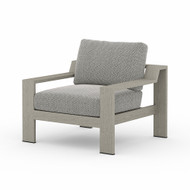 Four Hands Monterey Outdoor Chair - Faye Ash - Weathered Grey