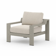 Four Hands Monterey Outdoor Chair - Faye Sand - Weathered Grey