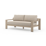 Four Hands Monterey Outdoor Sofa, Washed Brown - Faye Sand - Washed Brown