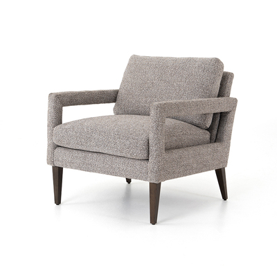 Four Hands Olson Chair - Astor Ink - Sienna Brown