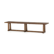 Four Hands Otto Dining Bench - Honey Pine - Waxed Bleached Pine