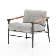 Four Hands Rowen Chair - Thames Raven - Carbon Black