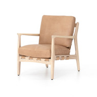 Four Hands Silas Chair - Sahara Tan - Natural Whitewash - Herald Sand