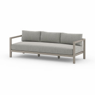 Four Hands Sonoma Outdoor Sofa, Weathered Grey - Faye Ash - Weathered Grey