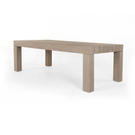Four Hands Sonora Outdoor Dining Table - Washed Brown