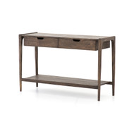 Four Hands Valeria Console Table - Aged Brown