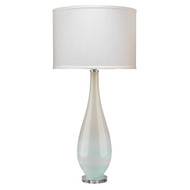 Jamie Young Dewdrop Table Lamp - Sky Blue Blown Glass