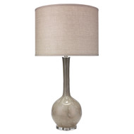 Jamie Young Florence Table Lamp - Taupe Glass
