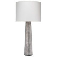 Jamie Young Striped Silver Pillar Table Lamp