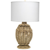 Jamie Young Jute Urn table Lamp - Small