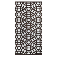 Jamie Young Geo Wall Sconce - Large - Oil Rubbed Bronze Metal & Acrylic