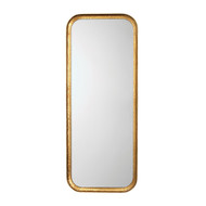 Jamie Young Capital Mirror - Gold Leaf Metal