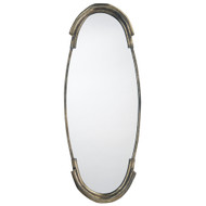 Jamie Young Margaux Mirror - Antique Silver Patina Metal