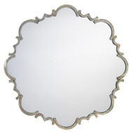 Jamie Young St. Albans Mirror - Antique Silver Patina Metal