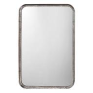 Jamie Young Principle Vanity Mirror - Silver Leaf Metal