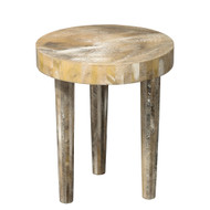 Jamie Young Artemis Side Table - Small - Pearl Resin