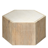 Jamie Young Argan Hexagon Table - Small