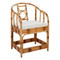 Jamie Young Malacca Round Back Arm Chair
