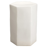 Jamie Young Porto Side Table - Large - White Ceramic