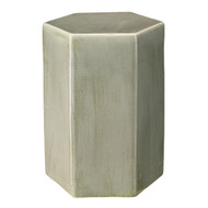 Jamie Young Porto Side Table - Large - Pistachio Ceramic