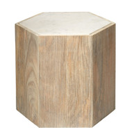 Jamie Young Argan Hexagon Table - Large