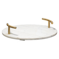 Jamie Young Carter T-Handle Tray - Round