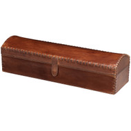 Jamie Young Chester Box - Tobacco Leather