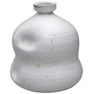 Jamie Young Dimple Jug - White Ceramic