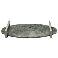 Jamie Young Framework Oval Tray