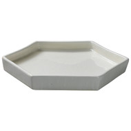 Jamie Young Porto Tray - Small - White Ceramic