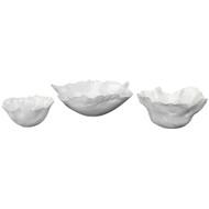 Jamie Young Fleur Ceramic Bow- Set of 3