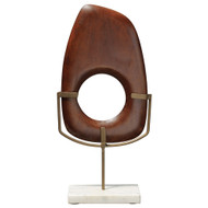 Jamie Young Veronica Tall Wood Object