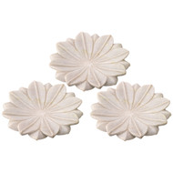 Jamie Young Lotus Plates - Set of 3 - Medium