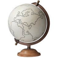 Jamie Young Canvas Globe - Large