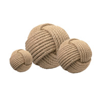 Jamie Young Jute Ball - Set of 3