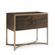 Caracole Modern Artisans Two Drawer Nightstand (Store)