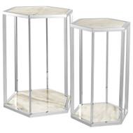 Eichholtz Side Table Taro SS - Set of 2 (Store)