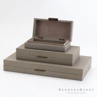 Global Views Alpen Box - Bark - Sm (Store)