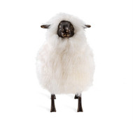 Interlude Home Phillippe Sheep Sculpture - Ivory (Store)