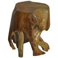 Noir Teak Root Side Table (Store)