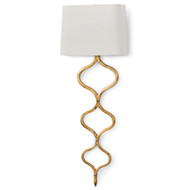 Regina Andrew Sinuous Sconce - Gold Leaf (Store)
