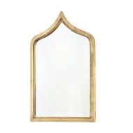 Worlds Away Zanzibar Morroccan Style Gold Leafed Iron Mirror (Store)
