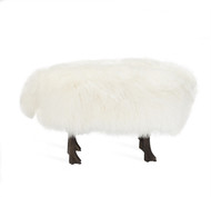 Interlude Home Jacques Sheep Stool (Store)