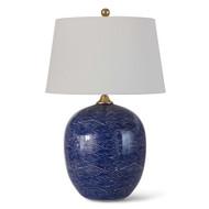 Regina Andrew Harbor Ceramic Table Lamp - Blue (Store)