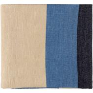 Surya Meadowlark Throw - MDW1001 - Bright Blue, Violet, Butter, Dark Blue (Store)