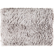 Surya Felina Throw - FLA8001 - Medium Gray, White (Store)
