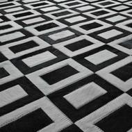 Yerra Doppio Rug - Black/White - 6 X 9 (Store)