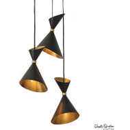 Global Views Cone Brass Pendant (Store)