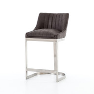 Four Hands Rory Counter Stool - Vintage Graphite (Store)