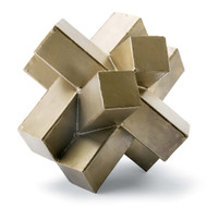 Regina Andrew Abstract Sculpture - Brass (Store)